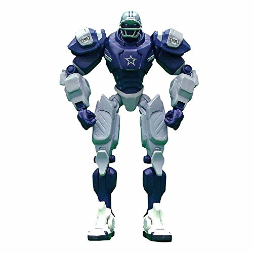 NFL Dallas Cowboys 10-Inch Fox Sports Team Robot (Cowboy Robot)