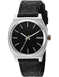 Nixon Men's A0452222-00 Time Teller Analog Display Japanese Quartz Black Watch