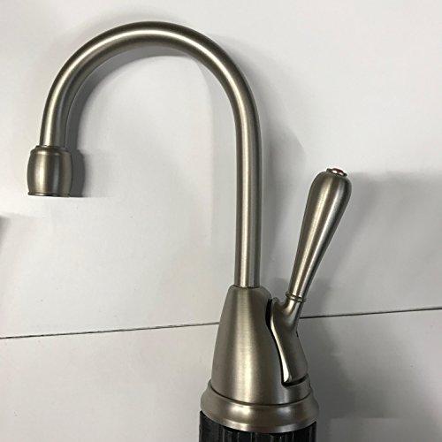 InSinkErator H-View-SN Single Handle Hot Water Dispenser Faucet Satin Nickel