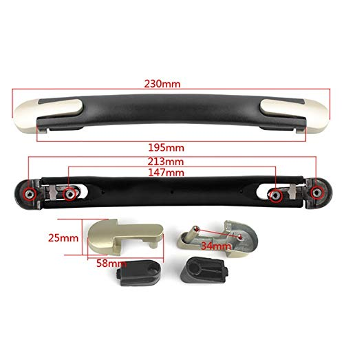 MEIZXIU 20cm Travel Suitcase Luggage Case Handle Strap Flexible Handle Grip Carrying Replacement for Luggage Case Box