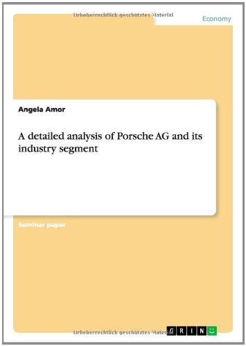 A Detailed Analysis of Porsche AG and Its Industry Segment