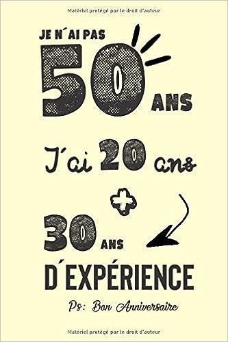 Joyeux Anniversaire Humour Carnet De Notes Idée Cadeau