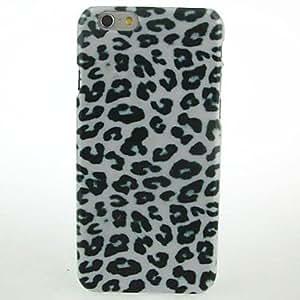 ZMY caso duro del patrón de leopardo negro para el iphone 6