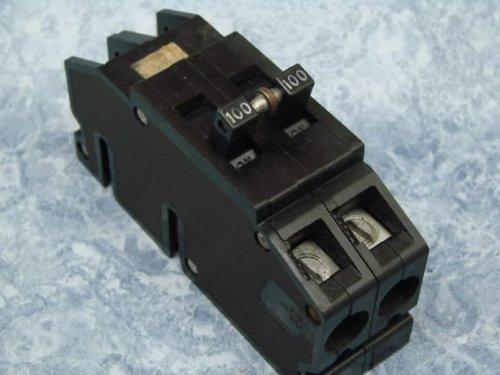 1- Zinsco QCAL2100 Original 100 Amp 120/240 Volt Type Q or QC Full Size Double Pole Circuit Breaker