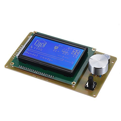 Anet 12864 LCD Smart Display Screen Controller Module with Cable for RAMPS 1.4 Arduino Mega Pololu Shield Arduino Reprap 3D Printer Kit Accessory