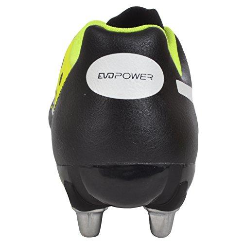 PUMA evoPOWER 4 SG Bota de Rugby Caballero negro
