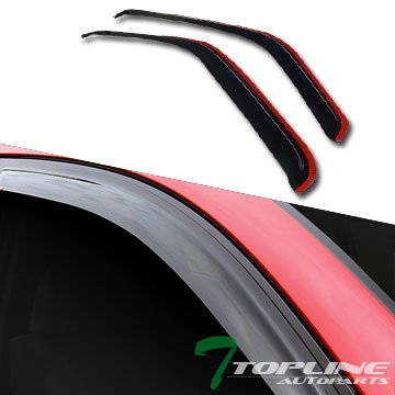 Topline Autopart Channel Window Visors