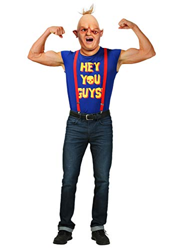 The Goonies Sloth Adult Costume Goonies Men's Sloth Costume Small Blue]()
