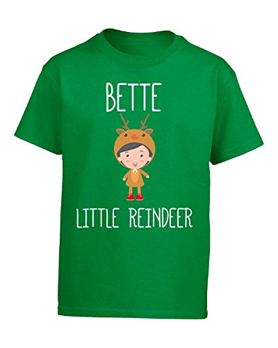Price comparison product image Bette Little Reindeer Christmas - Kids T Shirt Kids M Irish-green