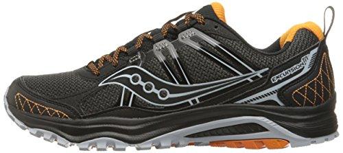 Saucony Men's Grid Excursion tr10 Trail Runner Grey/Black/Orange 8 M US by Saucony (Image #5)