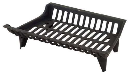 Panacea Products Corp 18' Blk Cast Iron Grate 15418 Fireplace Grates & Andirons by Panacea