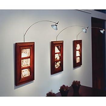 Tech lighting 700joscpb joshua low voltage wall picture lights lighting halogen black
