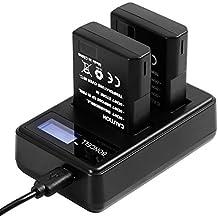 Bonacell 2 Pack 1500mAh Replacement Nikon EN-EL14 Battery and LCD Dual Charger for Nikon D5600, D3400, D5100, D5200, D5300, D5500, D3100, D3200, D3300, DF, Coolpix P7000, P7700, P7100, P7800 Camera
