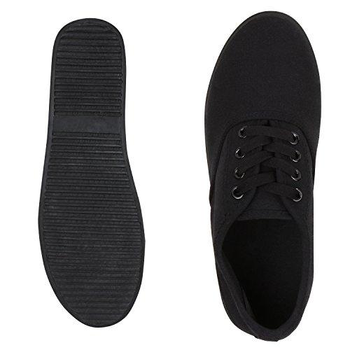 napoli-fashion - Zapatillas Mujer Schwarz Total