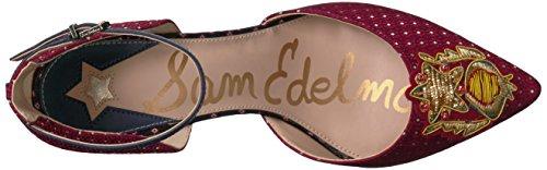 Red Fabric Tabby Tie Sam Pump Edelman Blue Multi Women's Multi 2 xq14UwOnAP