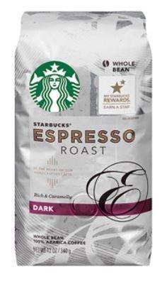 (Pack of 3)-Starbucks® Dark Espresso Roast Whole Bean Coffee, 12 oz each (Whole Bean Espresso Starbucks compare prices)