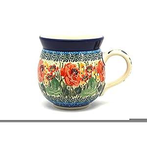 Polish Pottery Mug – 11 oz. Bubble – Unikat Signature U4400
