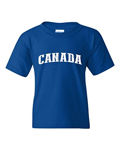 Ugo What To Do in Canada Vancouver Niagara Falls Travel Deals Canadian Map Unisex Youth Kids T-Shirt - In Vancouver Kids Stores
