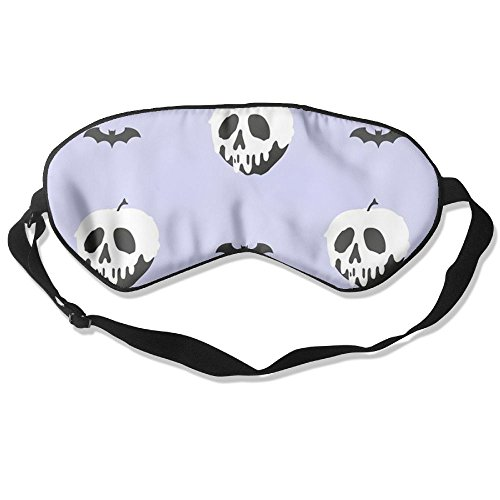 Burlingames Halloween - Poisoned Apple Christmas Mulberry Silk Cute Eye Shade Eyepatch Eye Masks Sleeping Shade