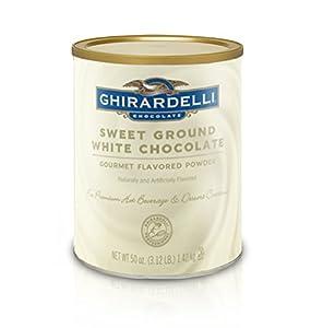Ghirardelli Sweet Ground White Chocolate Flavor Powder 312 Lbs by Ghirardelli Chocolate