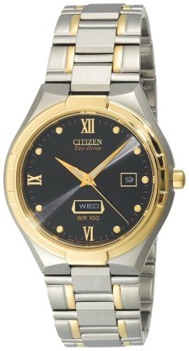 Citizen Men's BM5024-56E Eco-Drive Elektra Two-Tone Watch