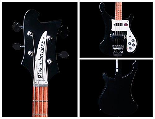 Rickenbacker 360 12 String Guitar in Jet Glo Black With Case in Jet Glo Black With Case