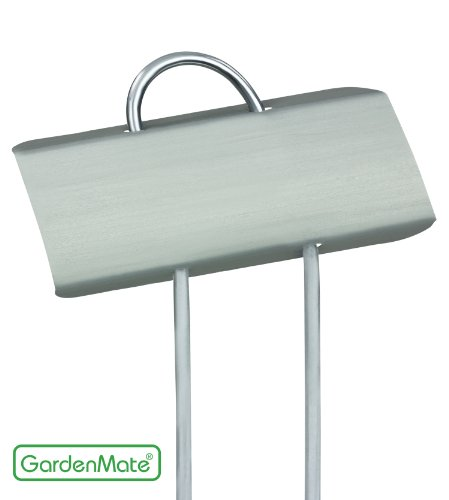 GardenMate 25-Pack Weatherproof Mini Metal Plant Labels, Height 5 3/4'', Label Area 7/8'' x 2 1/2'' ()
