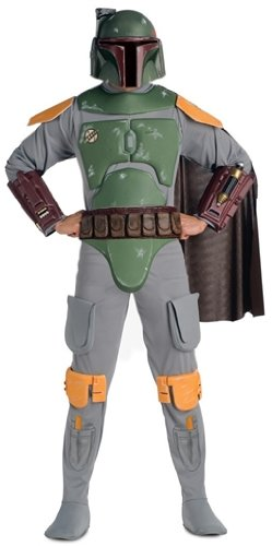 Star Wars Boba Fett Deluxe Adult Costume X-Large]()