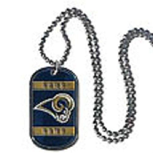 NFL St. Louis Rams Dog Tag Necklace
