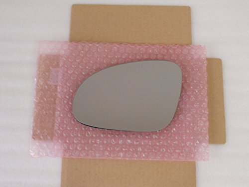 FLAT HEATED Mirror Glass for Volkswagen Jetta Passat EOS GTI Rabbit R32 Driver Side View Left LH