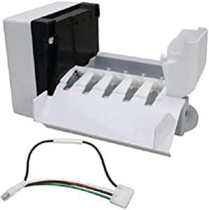 CoreCentric Refrigerator Ice Maker Assembly Kit replacement for Whirlpool W10190961 WPW10190961 Renewed