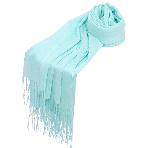 Envuelve sólido Chal 9 Hijab Dabixx otoño 37 borlas Mujer Bufanda pañuelo Largo Invierno Pashmina para qWwwtfFv