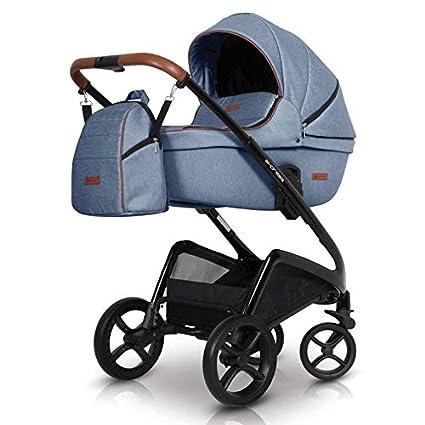 Carro 3 piezas Express denim: Amazon.es: Bebé