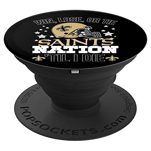 Saints Cell (Vintage New Orleans Football Saints 2019 Shirt Men Women Kid - PopSockets Grip and Stand for Phones and Tablets)
