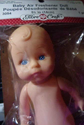Vintage Fibre & Craft Cover Baby Renuzit Air Freshener Doll 1995