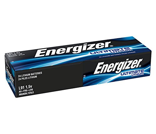 AA Energizer Ultimate Lithium L91 1.5V 24 Batteries 'In Original Box'