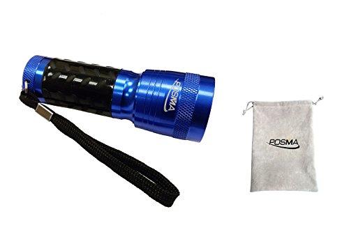Posma GBT010 14 LED Golf Ball Finder Torch Ultraviolet Flashlight UV Retriever by POSMA