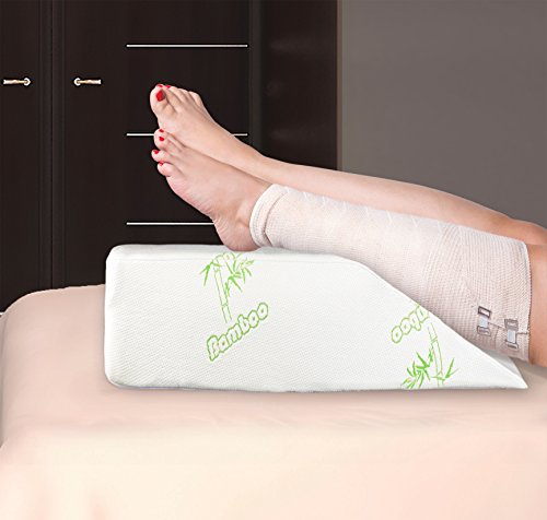 Best Leg Pillow Elevation Wedge Dual Layer Leg Elevator