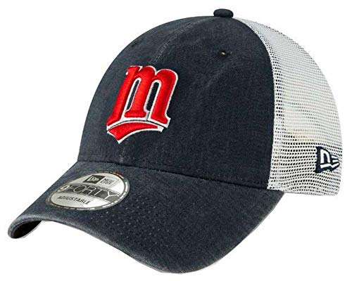 New Era 2019 MLB Minnesota Twins Baseball Cap Hat 1987 Cooperstown Truck Mesh Navy/White