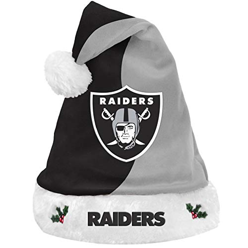 NFL Oakland Raiders Basic Santa Hat -