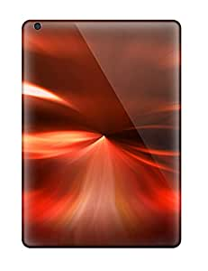 High-end Case Cover Protector For Ipad Air(futuristic Red Sky )