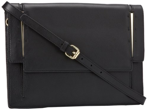 Vince Camuto Atmn Clutch,Black,One Size, Bags Central