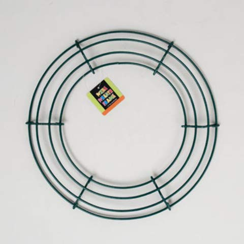 DollarItemDirect WIRE WREATH ROUND FRAME 12IN DIA PE COATED/UPC LABEL, Case Pack of 24