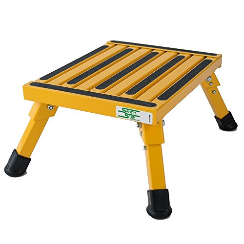 Aluminum Safety Bariatric Folding Step Stool With 1000 Lb