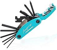 16 in 1 Bike Mult Tool.Applicable Scenario Bike Repair Mult Tool Kit Set for Mountain Bike ,Portable Mult Bike