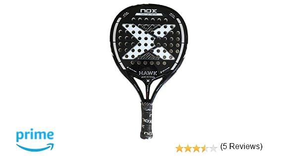 Pala de Padel Nox Hawk Black Edition 2019