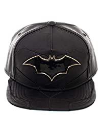 bioworld DC Comics Batman Rebirth Suit Up PU Leather Snapback Hat