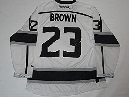 more photos 28214 c7f8b Signed Dustin Brown Jersey - Reebok 2012 Stanley Cup Coa ...