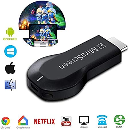 WFGZQ WiFi WiFi Dongle HDMI, WiFi Sharing Display Receiver 2.4 GHz Mini Screen, Adaptador De Pantalla Inalámbrico para Android/Smartphone/PC/TV/Monitor/Proyector (1080HD): Amazon.es: Hogar