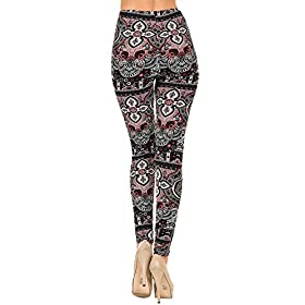 - 415UbQkgFXL - VIV Collection Popular Printed Brushed Buttery Soft Leggings Regular and Plus 40+ Designs List 1
